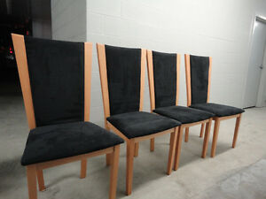 Set of Black Chairs
