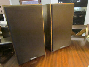 Vintage Genesis Physics G1+ Speakers Refoamed- Excellent!