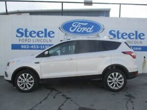 2017 FORD ESCAPE Titanium   CERTIFIED PRE-OWNED WITH FINANCING A