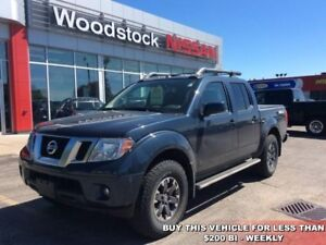 2015 Nissan Frontier PRO-4X  - Leather Package - $194.80 B/W