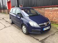2006 Vauxhall Zafira 1.9CDTi Life - 6 Speed Manual - Diesel - 7 Seater