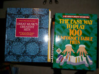 Selling New Condition Readers Digest Piano/Organ Books