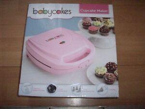Babycakes Cupcake Maker and Pops Maker