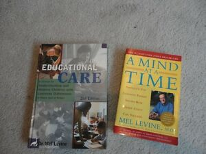 Mel Levine Books - $10 for both