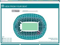 LAST NIGHT FINALE Adele Wembley Great seats together lower tier
