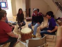 Looking for someone o lead usin a drumming circle