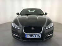 2015 JAGUAR XF R-SPORT D AUTOMATIC 4 DOOR SALOON 1 OWNER FINANCE PX WELCOME