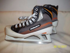 Junior Goalie Skates Size 4 (Two Pairs)