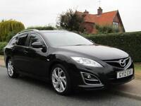 2012 Mazda 6 2.2d 180 BHP SPORT 5DR TURBO DIESEL ESTATE * HIGH SPECIFICATION ...