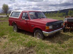 1990 Ford Bronco Pickup Truck