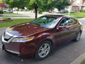 2009 Acura TL HTD SEATS. LEATHER. ROOF. ALLOYS - Mississauga