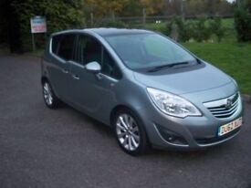 Vauxhall Meriva 1.4I 16V VVT TURBO SE 140PS FULL SERVICE HISTORY WITH HIGH SPEC (silver) 2012