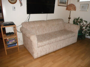 sofa bed queen size clean