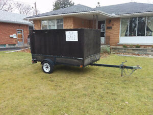 4 ft x 8ft utility trailer for sale