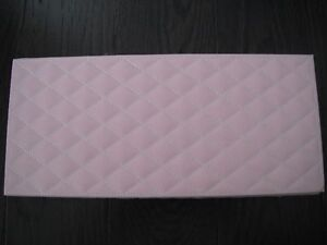 Pink Quilted Storage/Jewellery Box London Ontario image 2