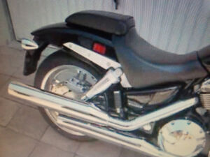 Wanted stock vtx1800 exhaust wanted oem pipes