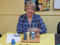 Rolled Beeswax Candle Workshop