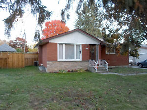 25 Maryknoll Ave, Lindsay - Brick Bungalow on Large Mature Lot.
