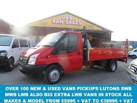2013/13 REG 350 LWB 2.2 350 DRW 125 BHP EXTRA L.W.B 14FT DROPSIDER