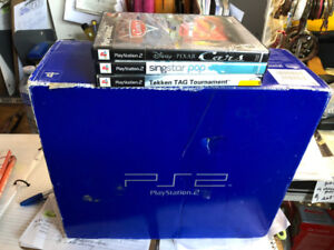 FAPO - PS2 System and 3 Games