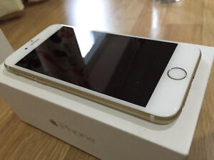 **QUICK SALE** Gold Rogers Iphone 6 16gb