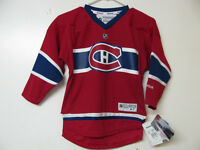 MONTREAL CANADIENS YOUTH 4-7 RED HOME HOCKEY JERSEY NEW/TAGS