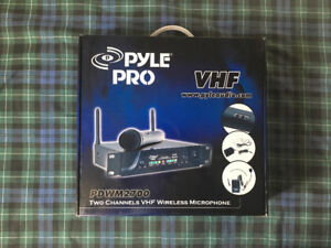 Pyle Pro Wireless Microphone System