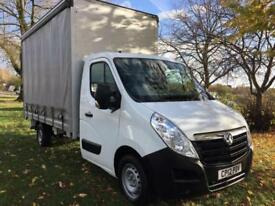 2012 Vauxhall Movano L3 3.5T 13ft Curtainsider, Transit Sprinter Size, Low Miles