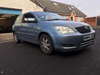 2004 Toyota Corolla 1.4 T3 VVTI 3 Door ***PX TO CLEAR***