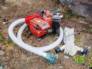 Pump-Water / Trash / Fire Suppression Homelite XLS 2-1B