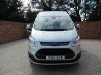 FORD TRANSIT CUSTOM 290 L1 H2 LIMITED HIGH ROOF 125 BHP AIR CON ALLOYS 3 SEATS