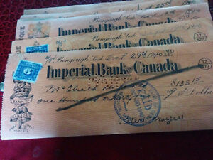 IMPERIAL AND ROYAL BANK OF CANADA OLD CHECKS