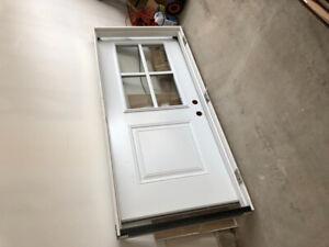 Standard Exterior Door and Frame