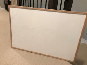 2 Staples 48x36 inch whiteboards
