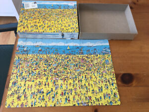 Wheres Waldo On The Beach CHARLIE Puzzle 100 CASSE TÊTE 1989