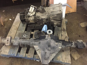 14 bolt true floater rear end and Allison 6 speed tranny Peterborough Peterborough Area image 2