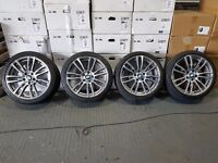 "19"" Genuine F30 M-Sport BMW 3 Series Alloys for a New model 3 series"