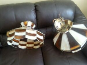 Two Tiffany Light fixtures