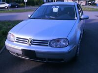 2007 Volkswagen Golf city manuel air Berline