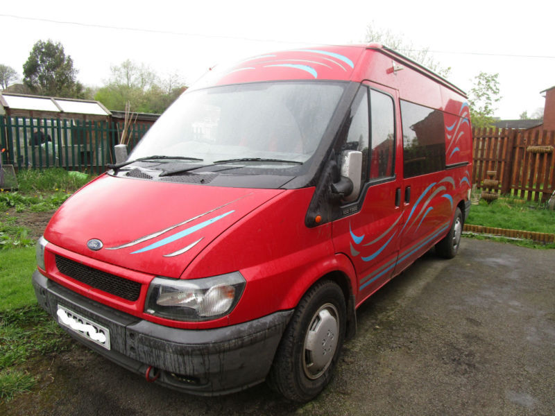 2002 Ford Transit 2 Berth Camper Van Conversion For Sale