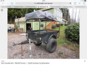 UPGRADE OFFROAD pour trailer Militaire M101