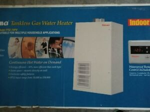 Paloma Tankless Water Heater (Vent Kit Available)