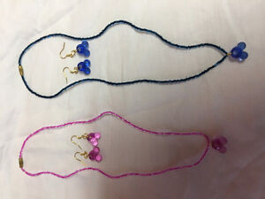 Mickey Mouse shaped jewellery sets