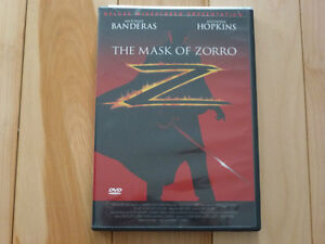 Film / DVD Le masque de Zorro (version anglaise)