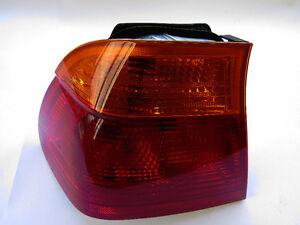 BMW 323i 328i 1999-2001 OEM Tail Light Lens Left 63218364921
