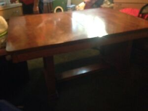 Old solid wood table for sale