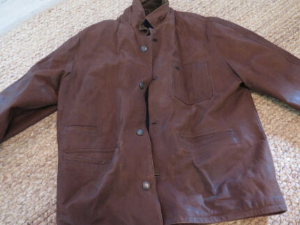 vintage leather jacket xl Woolooware Sutherland Area Preview