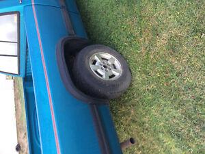 Dodge Dakota rims and tires