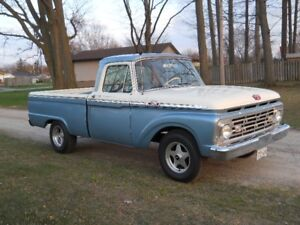 1964 Ford F100 Style Side Short Box