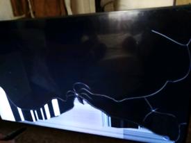 65 inch TV (broken screen)